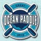 Great ocean paddle logo